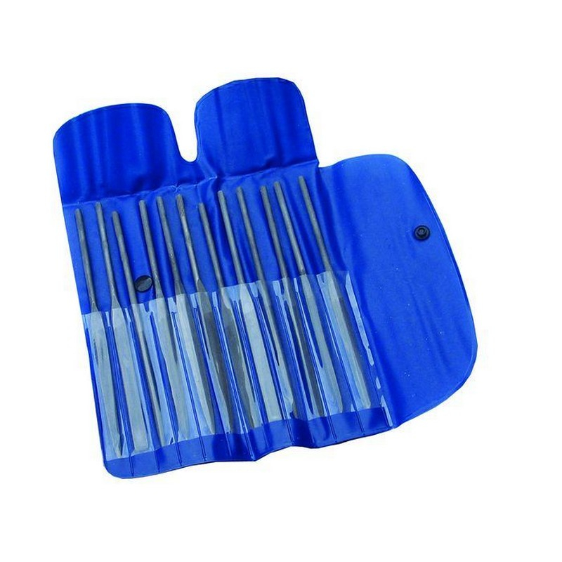 12Pce Linear Needle File Set 16cm