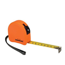 Silverline 8m Contour H-Viz Tape Rules