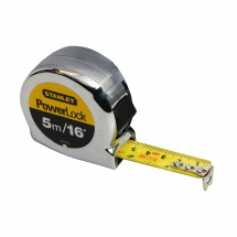 Stanley 5m/16ft Powerlock Tape Rules