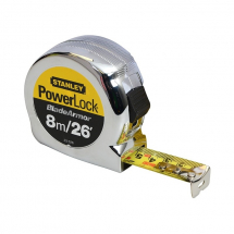 Stanley 8m/25ft Powerlock Tape Rules