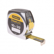 Stanley 10m/33ft Powerlock Tape Rules