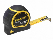 Stanley 8m/26' Tylon Tape Rules STA130656N