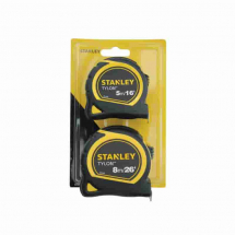 Stanley Tylon Tape Rules 5m/16ft + 8m/26ft STA998985