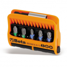 Beta 10Pc Bit Set Slot/PH/PZ 860MIX/A10