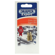 Draper PZ2 Screwdriver Bit 50mm 'E'Shank (Pk 2) 52779