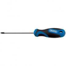 Draper Cross Slot Screwdriver No.2 x 100mm Soft Grip 48932