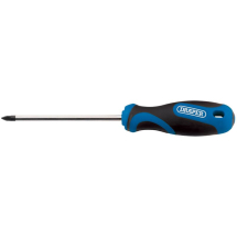 Draper Cross Slot Screwdriver No.3 x 150mm Soft Grip 34552