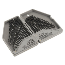 Sealey Hex Key Set 30Pc MM/IMP S0484