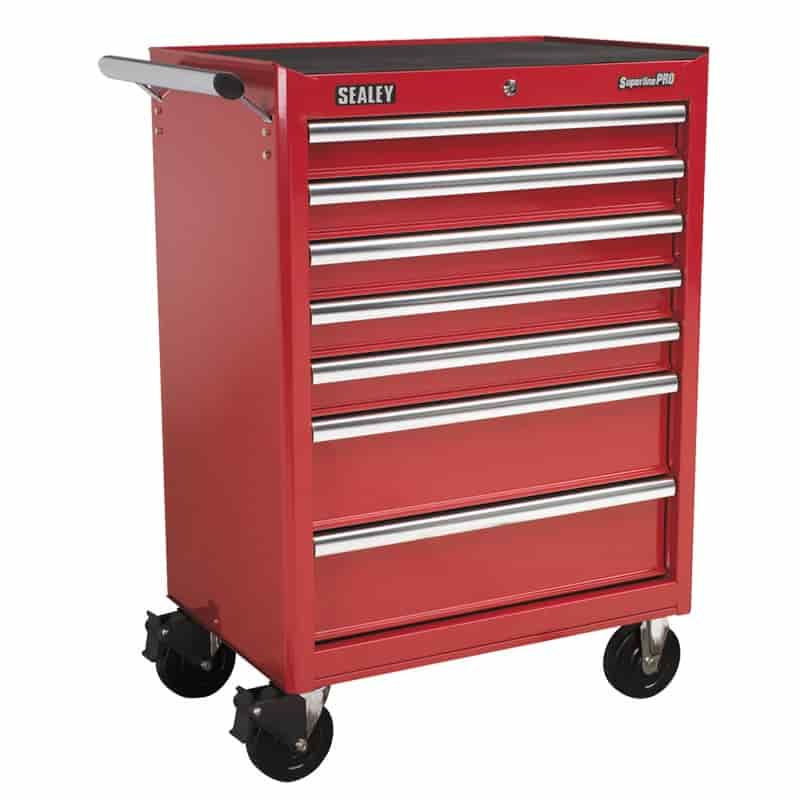 Sealey Roller Cab 7 Drawer Red AP33479