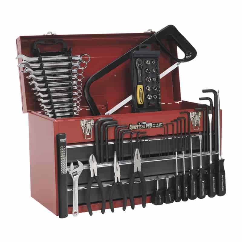 Sealey Tool Chest 3 Drawer 93pc Tool Kit AP9243BBCOMBO