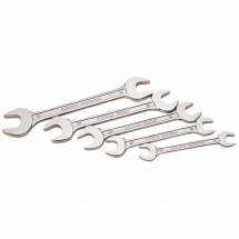 Draper 5pc Open End Spanner Set MM 10-19mm 30768