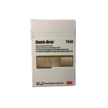 3M 7440 Scotchbrite Brown Pk20 Hand Pad