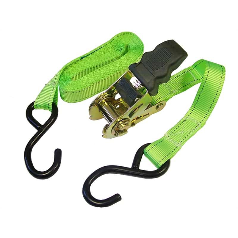 Faithfull Ratchet Tie downs (Pair) 5m x 25mm FAITDRAT51SH