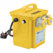 Draper 3.3kVA 230V to 110V 16A Portable Transformer 31264