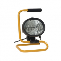 Faithfull 110V 500W Halogen Site light FPPSL500CPL