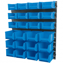 24 Bin Wall Storage Unit (XL/L/M Size Bins)06796