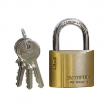 50mm Brass Padlock FAIPLB50