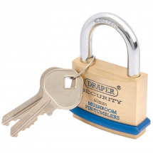Draper 40mm Brass Padlock 64161