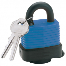 Draper 45mm Steel Padlock Weatherproof 64176