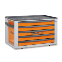 Beta Portable Tool Chest Five Drawers C23ST Orange
