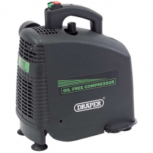 Draper Oil-Free Air Compressor 230V 1.1kW (1.5hp) 24973