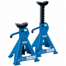Draper 2 Tonne Axle Stands Ratcheting (Pair) 30878