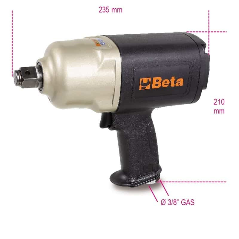 Beta 3/4inch Reversible Air Impact Wrench 1928CD