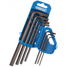 Draper 2.5-10mm Hex Key Set Long Arm 33690