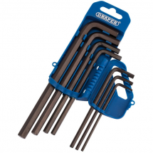 Draper 1/8-3/8inch Hex Key Set Long Arm 33693