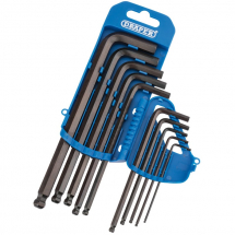 Draper Ball End Hex Key Set 2-10mm 33694