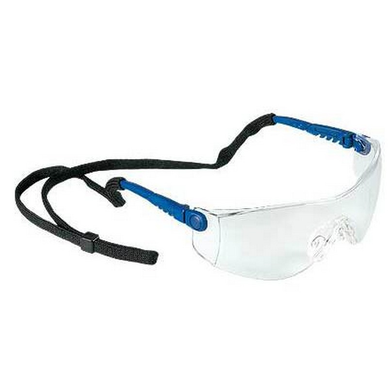 Op-Tema Clear Wraparound Safety Spectacles