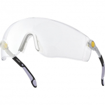 Delta Plus LIPARI2 Clear Wraparound Safety Spectacles