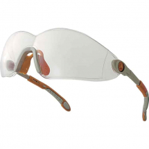 Delta Plus VULCANO2 Clear Wraparound Safety Spectacles