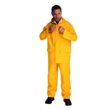 PVC Yellow Wet Suit Large 342401