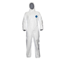 Tyvek White Coverall Large