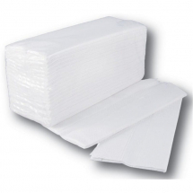 2 ply C Fold White 2400 Sheets SPD1472