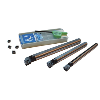 Pramet Boring Kit - 3x Boring Bars and Inserts