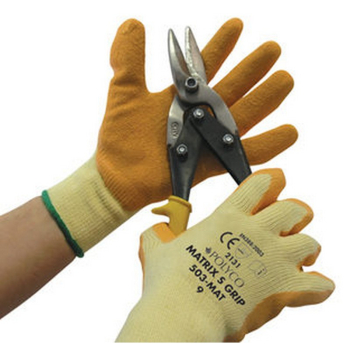 Polyco 504 Latex Knit Wrist Glove