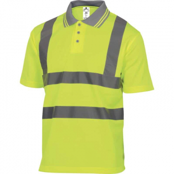 Delta Plus Offshore High Visibility Polyester Polo