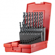Dormer A108 Drill Bit Set 1-10mm x 0.5mm A188201 For Stainless Steel