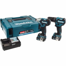 Makita CLX205AJ Twin Pack 10.8V 2x 2.0Ah Li-ion Batt