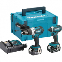 Makita DLX2145TJ Twin Pack 18V 2x 5.0Ah Li-ion Batt